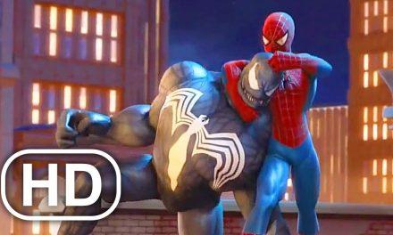 SPIDER-MAN FRIEND OR FOE Full Movie Cinematic Marvel Superhero 4K ULTRA HD All Cinematics