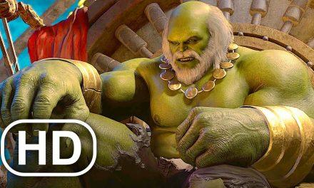 Marvel's Avengers Maestro Hulk Future Earth Scene Teaser