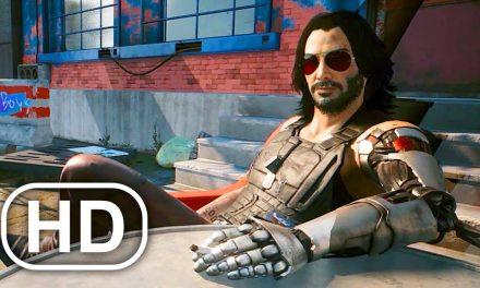 CYBERPUNK 2077 Keanu Reeves Gameplay Johnny Silverhand