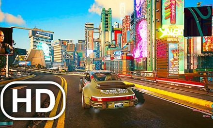 CYBERPUNK 2077 Free Roam Open World Gameplay (Police Chase,Combat)