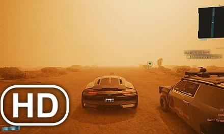 CYBERPUNK 2077 Sandstorm Gameplay Free Roam