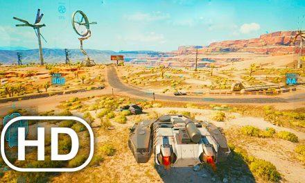 CYBERPUNK 2077 Battle Tank Gameplay PS5 Full Mission