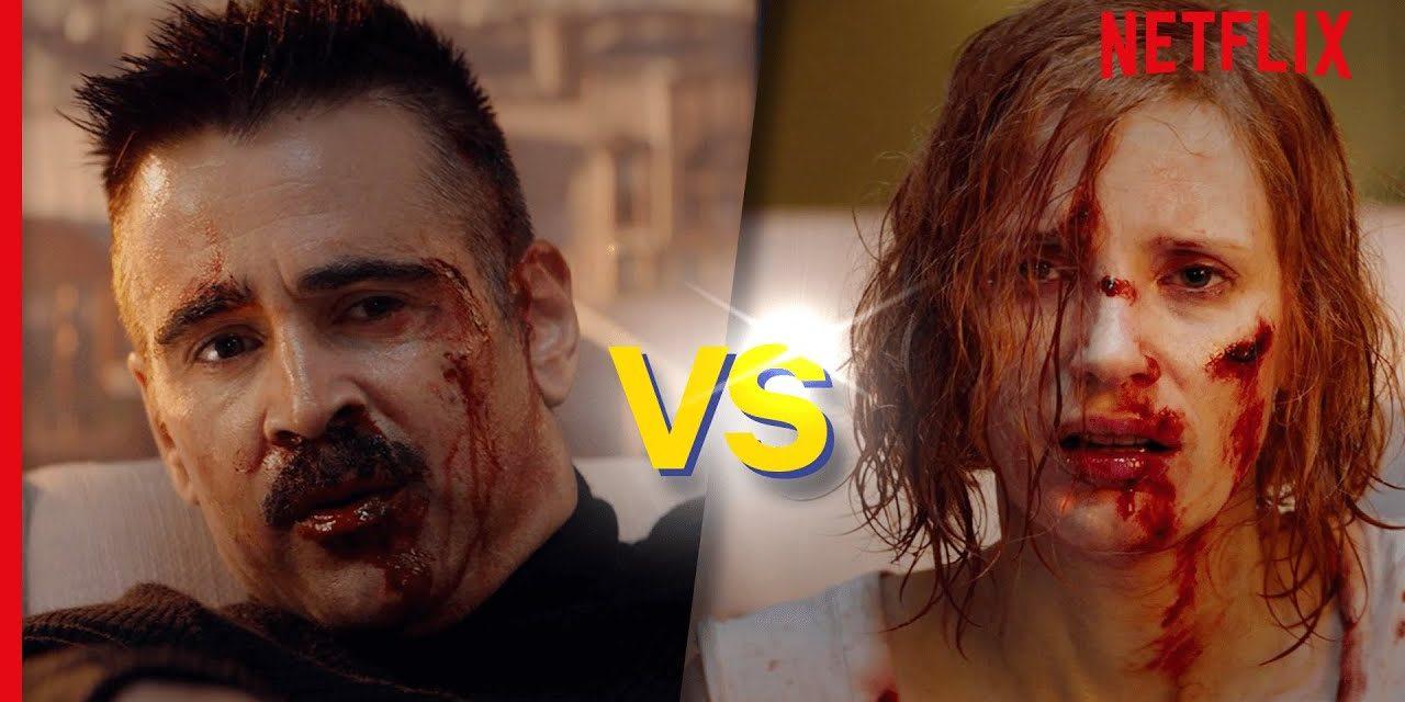 Ava   Jessica Chastain and Colin Farrell's BRUTAL Fight (Full Scene)