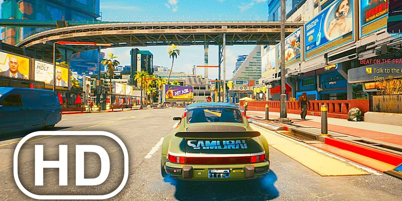 CYBERPUNK 2077 Keanu Reeves Porsche Car Mission Gameplay (How To Get Johnny Silverhand Car)