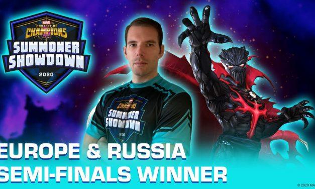 Summoner Showdown 2020: EUROPE & RUSSIA REGION WINNER!