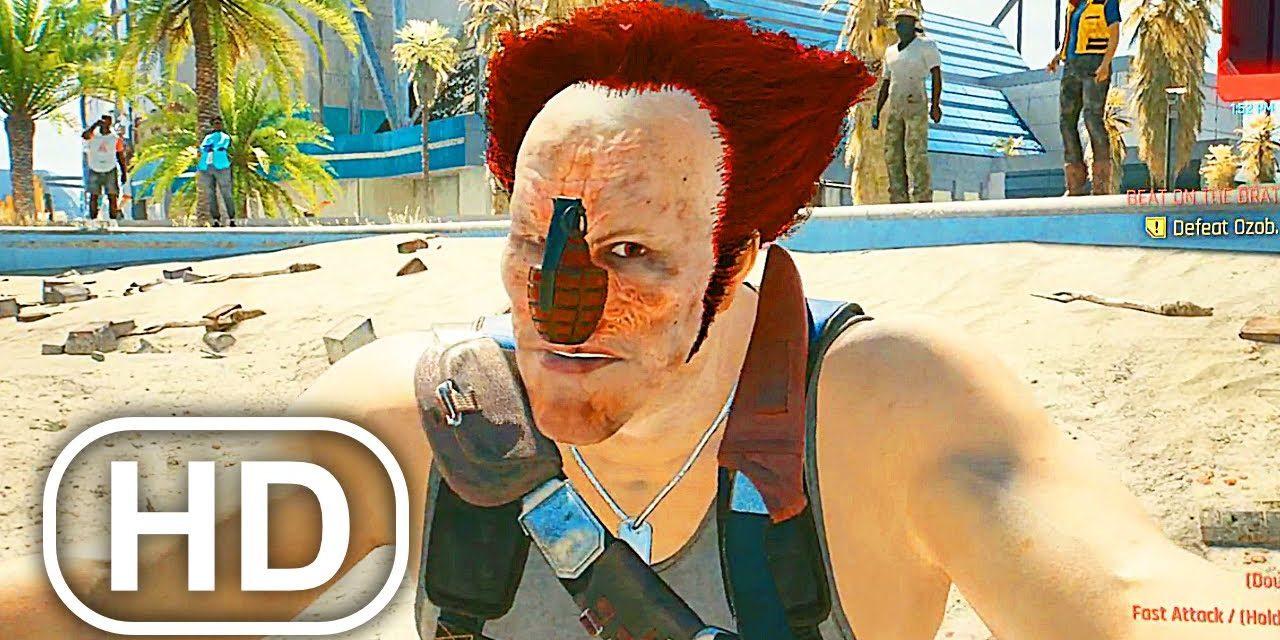 CYBERPUNK 2077 Killer Klown Boss Fight OZOB BOZO Gameplay