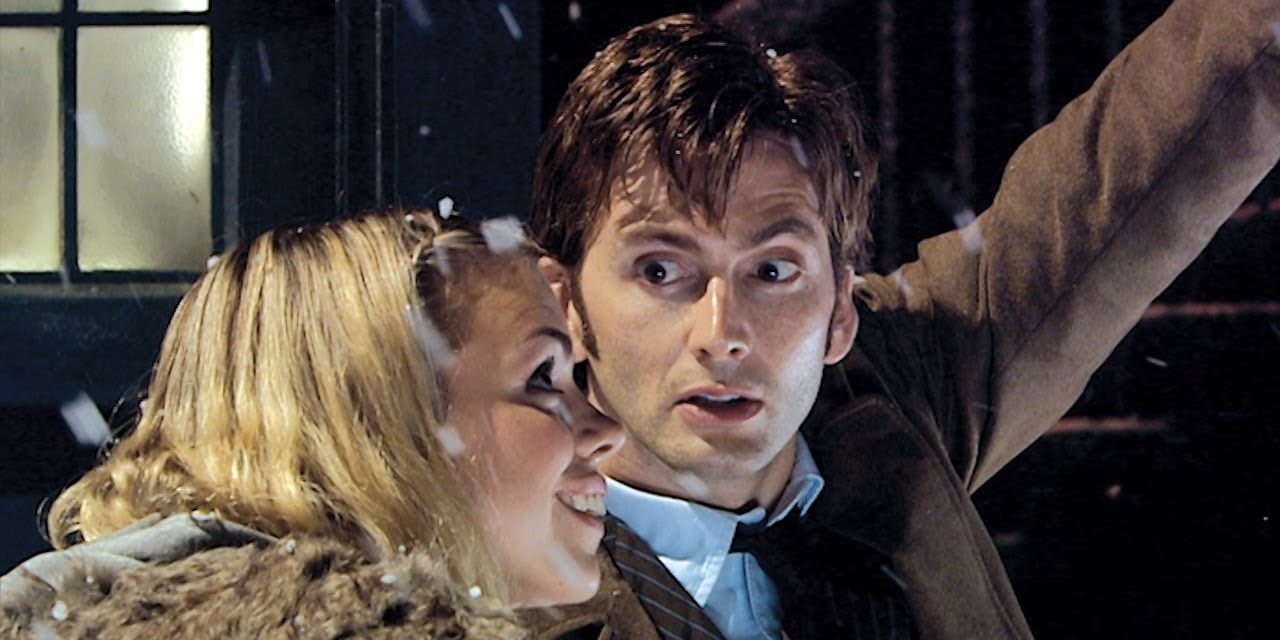 Rose Joins the Tenth Doctor   The Christmas Invasion (HD)   Doctor Who