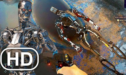 CYBERPUNK 2077 Endoskeleton Terminator Easter Egg Arnold Schwarzenegger