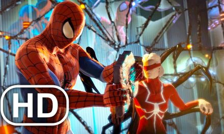 Spider-Man Meets Spider-Woman Madame Web Scene 4K ULTRA HD – Spider-Man Shattered Dimensions