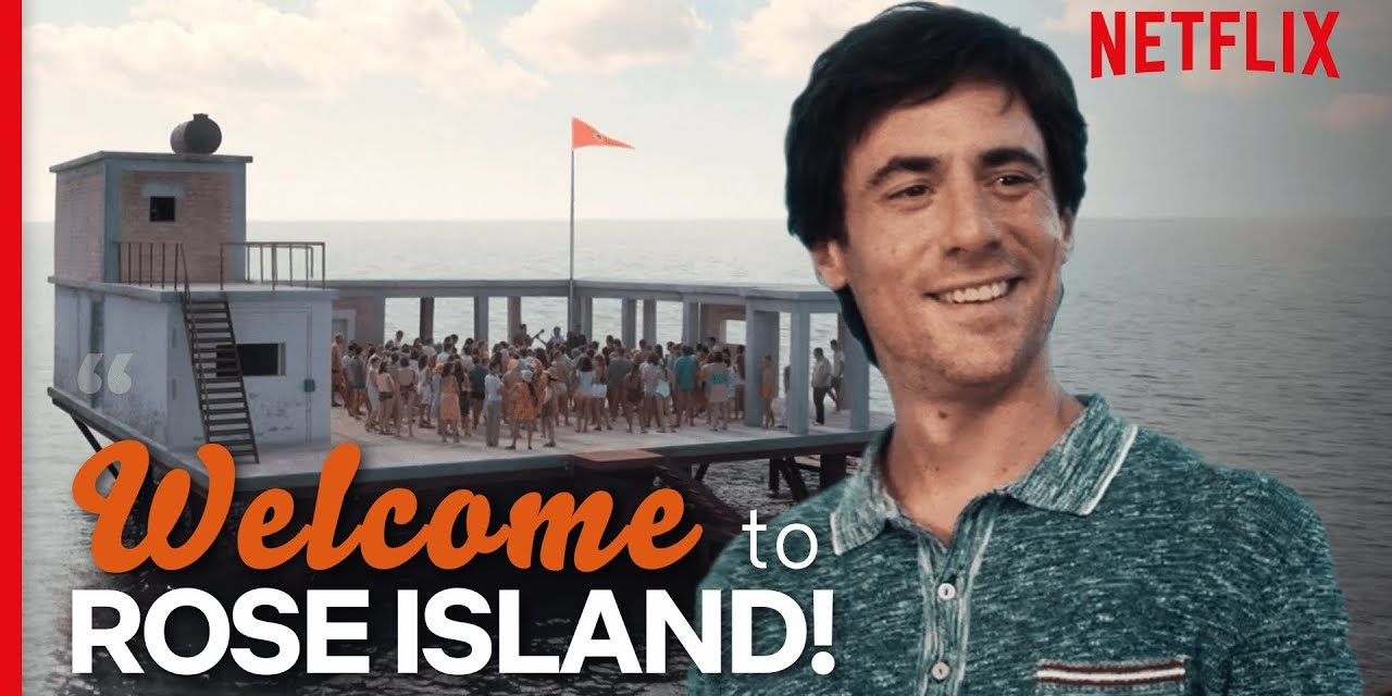 Building Your Own Island (Full Scene)   Rose Island   Netflix