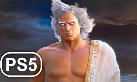 GOD OF WAR PS5 Zeus Final Boss Fight & Ending 4K ULTRA HD – God Of War 3 Remastered