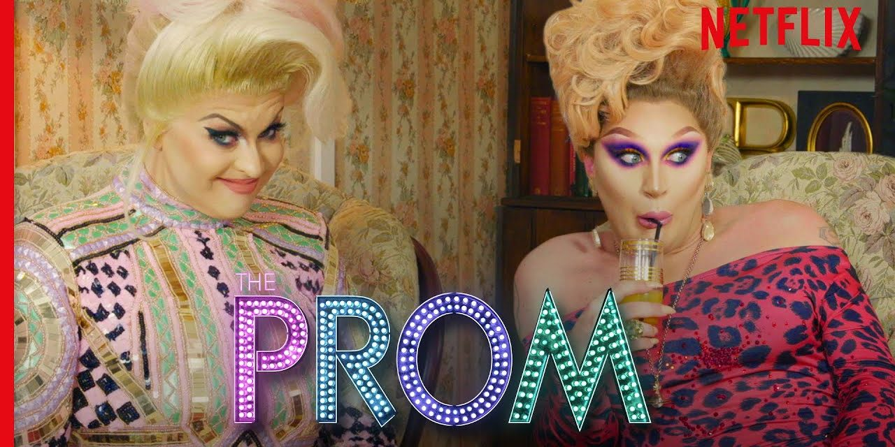 Drag Queens The Vivienne & Cheryl Hole React to The Prom   I Like to Watch UK Ep 7