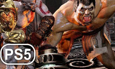 GOD OF WAR PS5 Hercules Boss Fight Gameplay 4K ULTRA HD – God Of War 3 Remastered