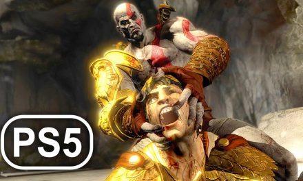 GOD OF WAR PS5 Helios Boss Fight Gameplay 4K ULTRA HD – God Of War 3 Remastered