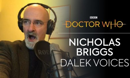 How to Voice a Dalek | Revolution of the Daleks | Doctor Who