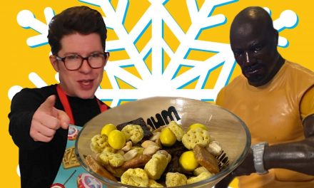 Luke Cage Snack Mix | M&Ms