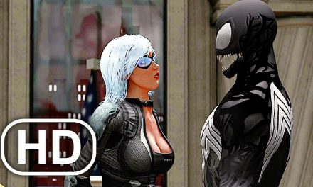 Venom Loves Black Cat? Scene 4K ULTRA HD – The Amazing Spider-Man 2 Game