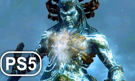 GOD OF WAR PS5 Poseidon Boss Fight Gameplay 4K ULTRA HD – God Of War 3 Remastered