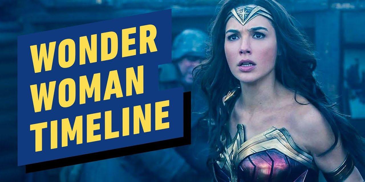 Wonder Woman DCEU Timeline