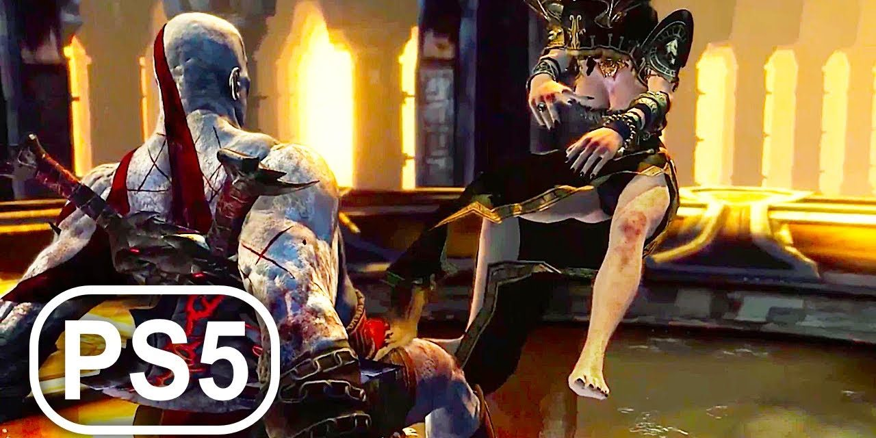 GOD OF WAR PS5 ASCENSION Megaera & Tisiphone Boss Fight Gameplay 4K ULTRA HD