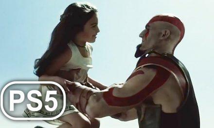Kratos Kills His Wife & Daughter Scene 4K ULTRA HD – GOD OF WAR PS5 PS NOW
