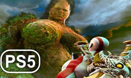 GOD OF WAR PS5 Gaia Mother Earth Titan Boss Fight Gameplay 4K ULTRA HD – God Of War 3 Remastered