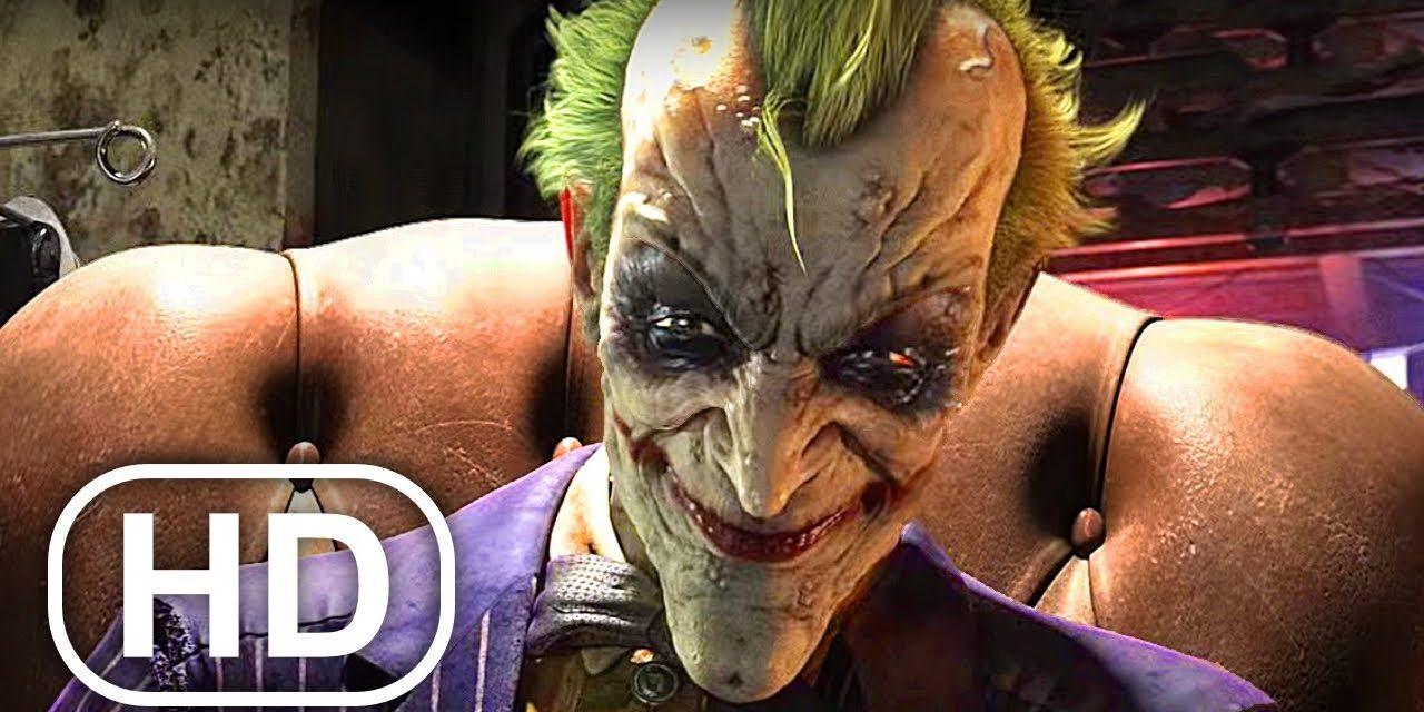 Joker Infects Batman With Virus Fight Scene 4K ULTRA HD – Batman Arkham City Movie Cinematics