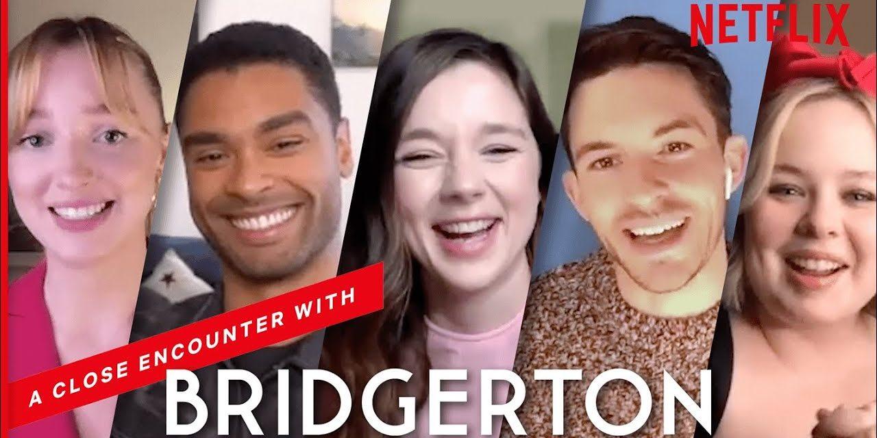 The Bridgerton Cast Reveal Behind The Scenes Gossip   Netflix