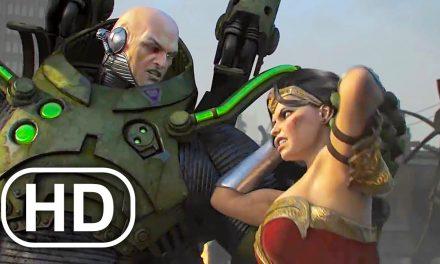 JUSTICE LEAGUE Lex Luthor Kills Wonder Woman Fight Scene Cinematic 4K ULTRA HD – DC Universe Online