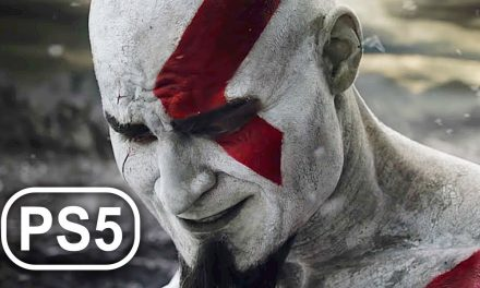 How Kratos Turned White & Got Red Tattoo Scene 4K ULTRA HD – GOD OF WAR PS5 PS NOW