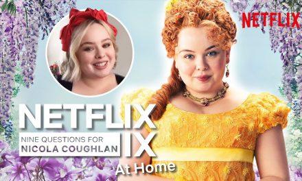 The Nicola Coughlan Bridgerton Interview | Netflix IX