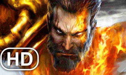 Kratos Fights His Brother Deimos Scene 4K ULTRA HD – GOD OF WAR CINEMATIC