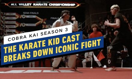 Cobra Kai Cast Breaks Down Iconic Karate Kid Fight