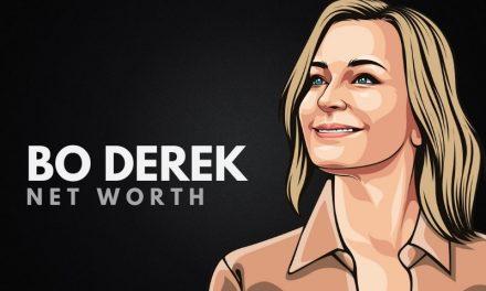 Bo Derek Net Worth