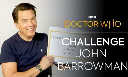 John Barrowman Plays 'What's My Line?' | Revolution of the Daleks | Doctor Who