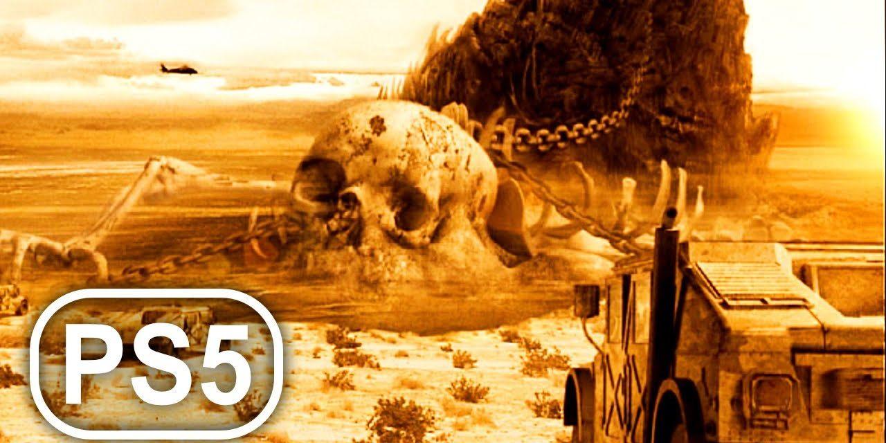 Kratos & Cronos Titan Year 2005 Modern Day Scene 4K ULTRA HD – God Of War PS5 Remastered