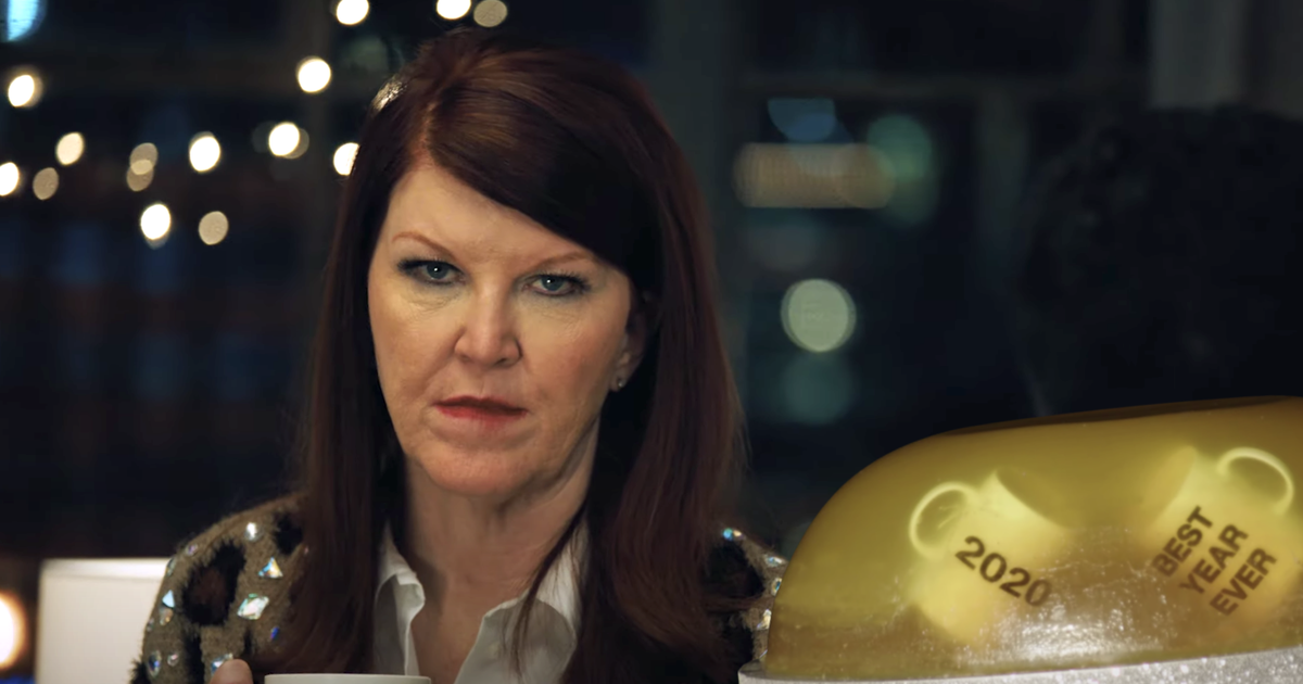 'The Office' stars ring in 2021 with a *very* on-brand jello stunt