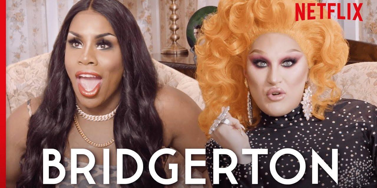Drag Queens The Vivienne & Monét X Change React to Bridgerton | I Like to Watch UK Ep 8