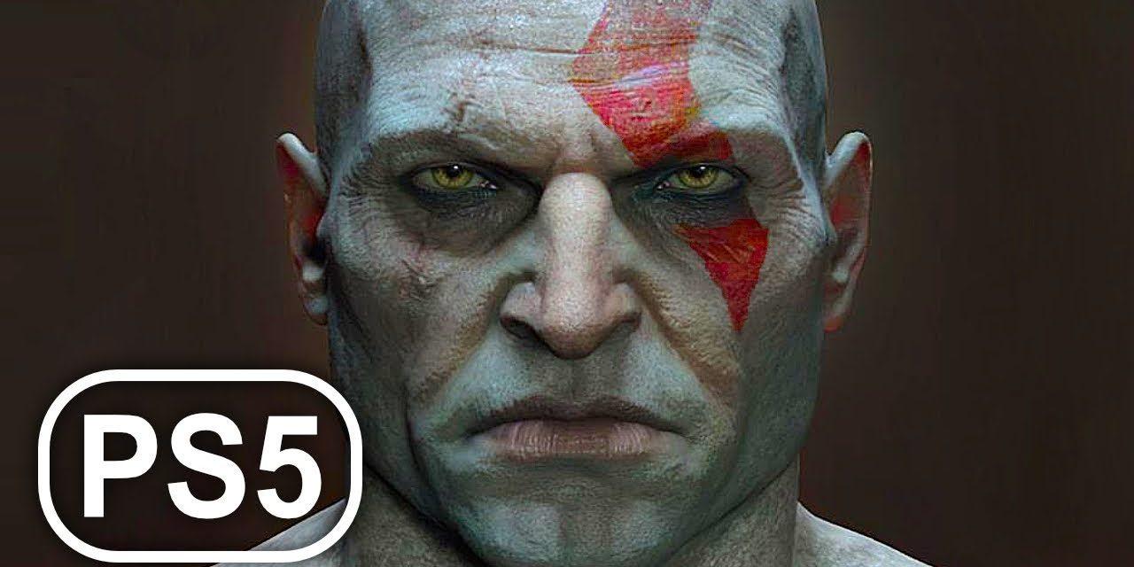 GOD OF WAR 2 PS5 REMASTERED Full Movie Cinematic 4K ULTRA HD All Cinematics Cutscenes