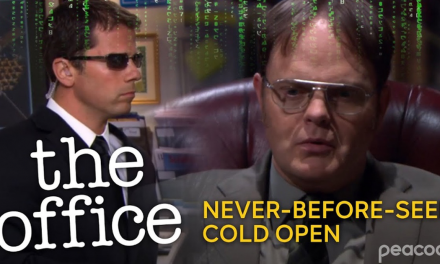Unseen 'The Office' clip shows Dwight enter 'The Matrix' in elaborate finale prank