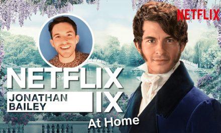 Chatting Bridgerton with Jonathan Bailey | Netflix IX