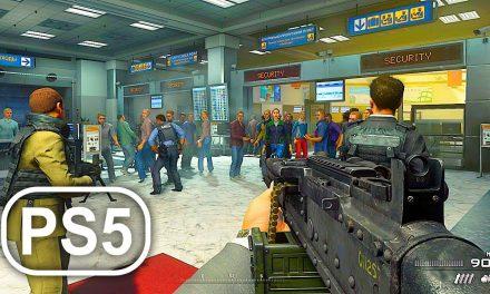 MW2 PS5 No Russian Mission 4K ULTRA HD – Call Of Duty Modern Warfare 2 Remastered