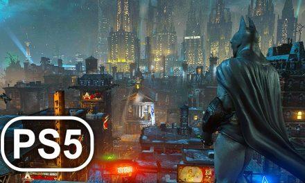 BATMAN PS5 Gameplay 4K ULTRA HD DC SUPERHERO – Batman Arkham City Remastered