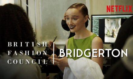 Bridgerton – Behind the Scenes of the British Fashion Council Photo Shoot
