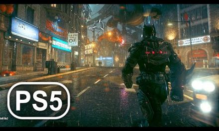 BATMAN PS5 Gameplay 4K ULTRA HD DC SUPERHERO – Batman Arkham Knight