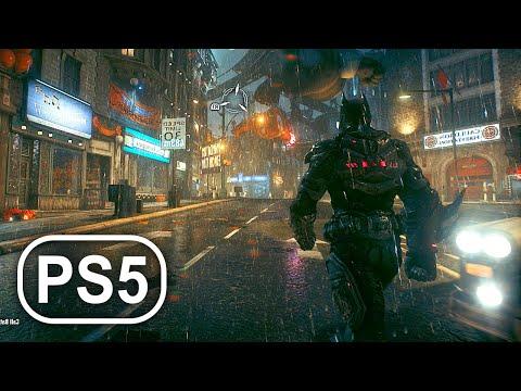 BATMAN PS5 Gameplay 4K ULTRA HD DC SUPERHERO – Batman Arkham Knight