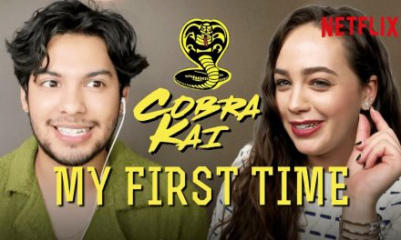 Cobra Kai | First Times with Xolo Maridueña and Mary Mouser