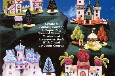 Plastic Canvas Patterns- Fairy-Tale Castles