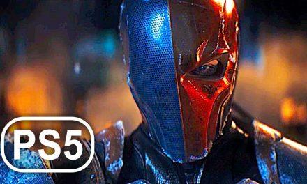 BATMAN PS5 DEATHSTROKE Boss Fight 4K ULTRA HD – Batman Arkham Origins