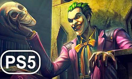 BATMAN PS5 Joker Kills Batman Scene 4K ULTRA HD – Batman Arkham Asylum Remastered